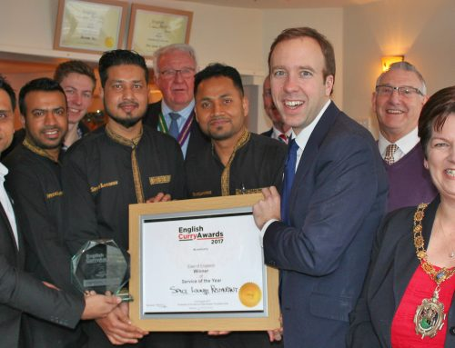 Mildenhall's Spice Lounge Restaurant Brings Home Gold In The English Curry Awards 2017